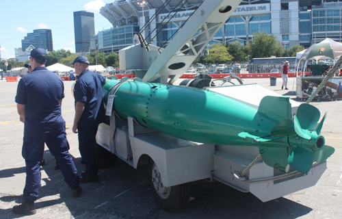 Mark 14 Torpedo - Navy Week Cleveland