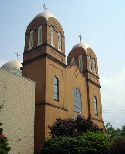 Annunication Greek Orthodox Church in Tremont