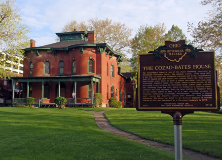 Cozad-Bates House - underground railroad University Circle Cleveland Ohio