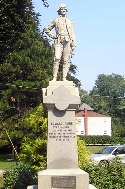 General Edward Paine Statue in Painesville