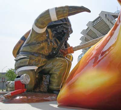 Cleveland Fire Fighters Memorial