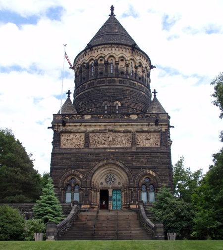 President Garfield monument in Cleveland Ohio