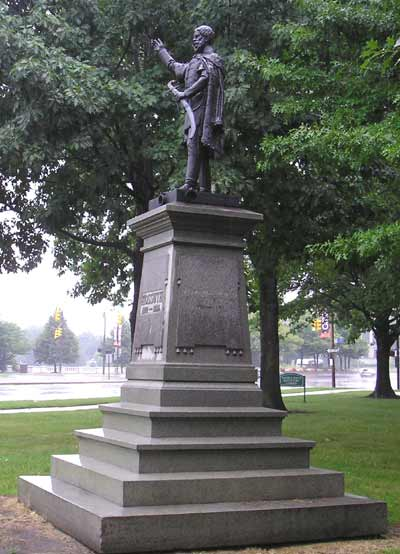 Louis Lajos Kossuth statue in Cleveland Ohio