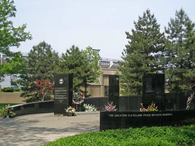 Greater Cleveland Police Officers Memorial