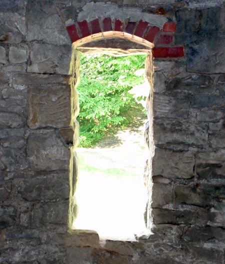 Squire's Castle window - photos by Dan Hanson
