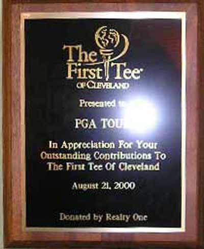 Andre Thornton's First Tee Plaque