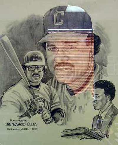 Andre Thornton Cleveland Indians Wahoo Club Plaque