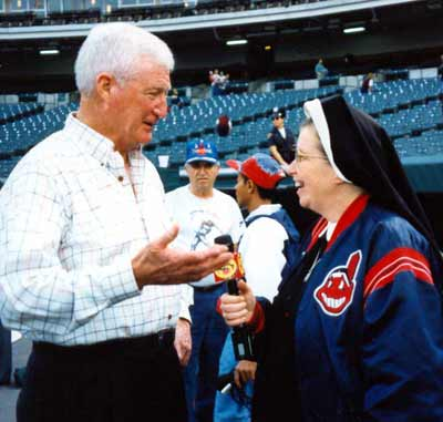 Sister Assumpta and Herb Score
