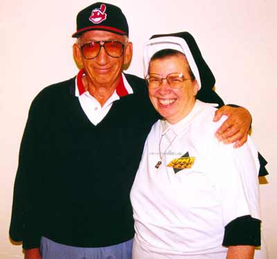 Sister Assumpta with Ted Bonda