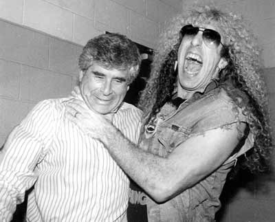 Jules Belkin with Dee Snider of Twisted Sister