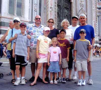 Jules Belkin family in Florence, Italy
