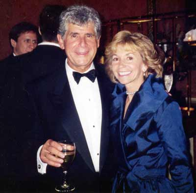 Jules and wife Fran Belkin