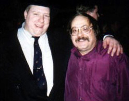 Mr Stress Bill Miller with fellow Blues musician and friend Colin Dussault