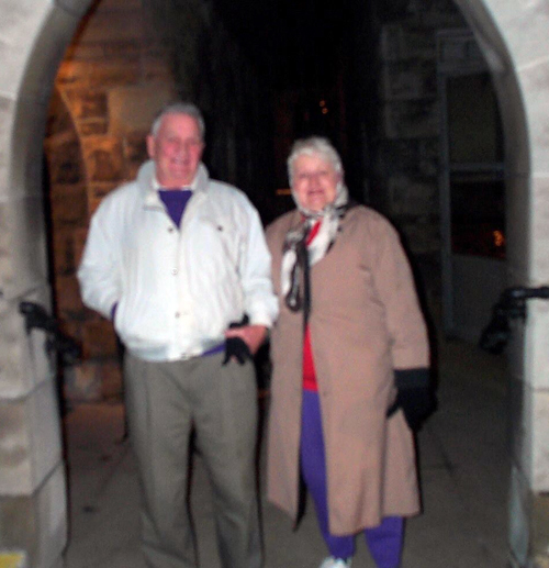 Bob and Alice Prohaska at St. Philomena Church