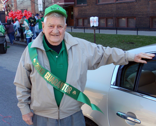 Bob Prohaska honored at St. Patrick's Day in 2010