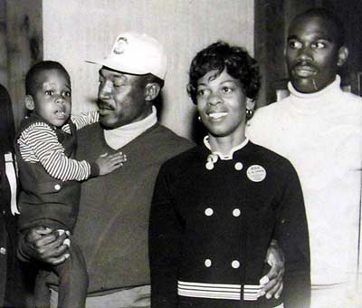Charlie Sifford family