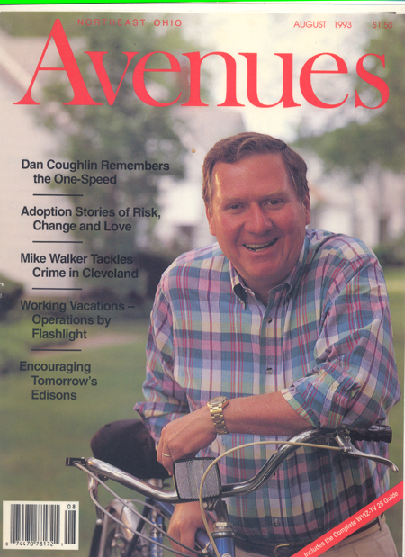 Dan Coughlin on cover of Avenues Magazine