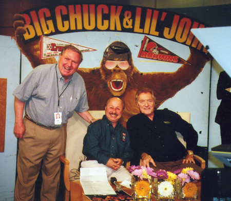 Dan Coughlin with Big Chuck and Little John