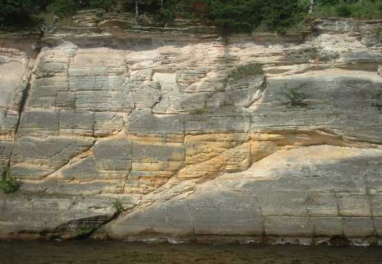 Sandstone at the Dells