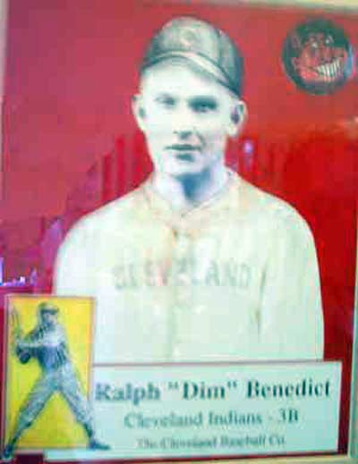 Ralph Dim Benedict, an original Cleveland Indian