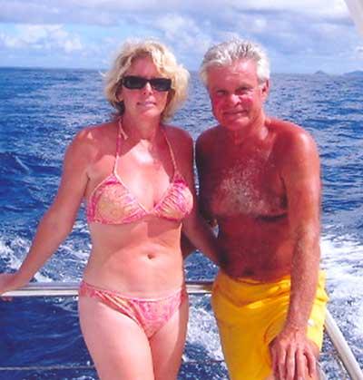 Don Webster with wife Candi