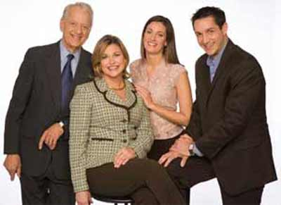 Fred Griffith, Eileen McShea, Andrea Vecchio and Michael Cardamone - the Good Company team