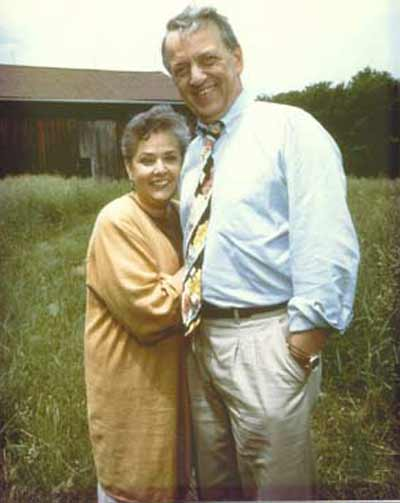 Fred and Linda Griffith in 1990 posing for Book # 2's cover