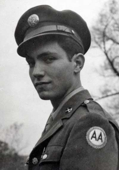 George Weidinger in th Army in 1943
