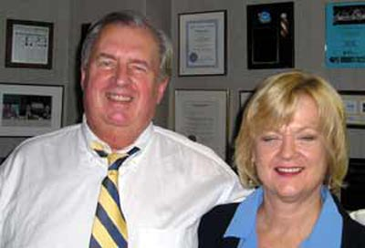 Lute Harmon and Sue Harmon
