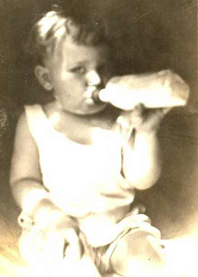 Howard Hoffman baby photo