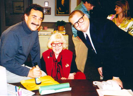Larry Morrow, Jane Scott and Drew Carey