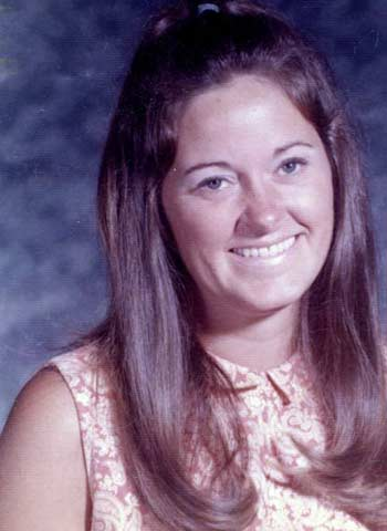 The future Cindy Cookinham in Hawaii in 1970