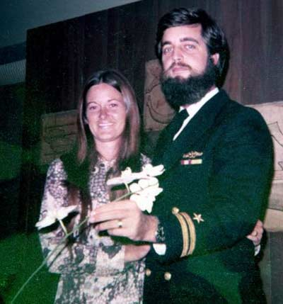 Cindy and Jim Cookinham in Hawaii in 1973