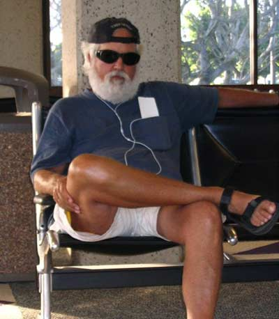 Jim Cookinham in Kauai in 2006