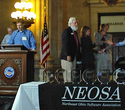 NEOSA Awards at Cleveland City Hall in 2003