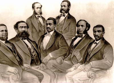First African American Senator and Congressmen in 1872
