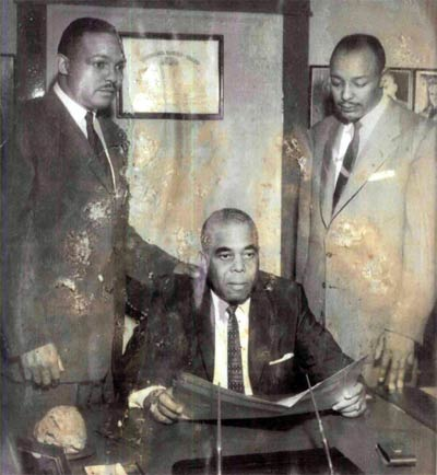 Carl Stokes, Norman Minor and Louis Stokes