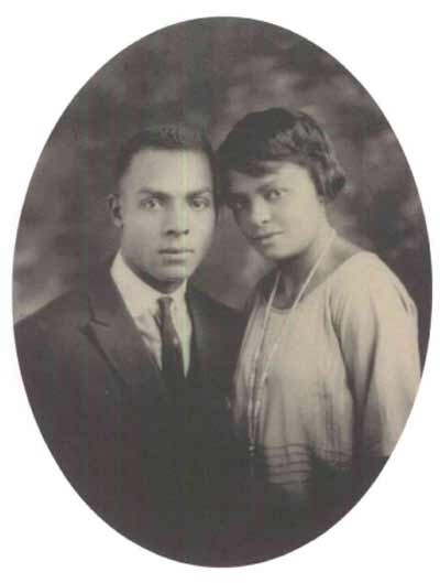 Charles and Louise Stokes - parents of Louis and Carl Stokes