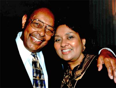 Louis Stokes and wife Jay