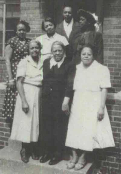 Louis Stokes with mother and maternal grandmother