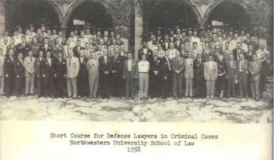 Louis Stokes - Northwestern Law School 1958
