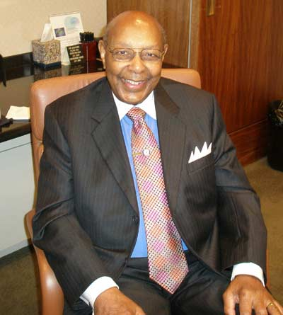 Louis Stokes in June 2007 (photo by Dan Hanson)