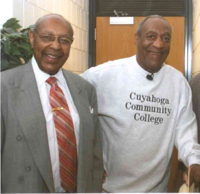 Louis Stokes with Bill Cosby