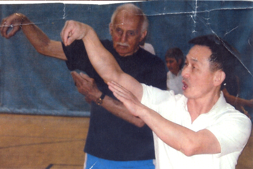 Maury Feren doing Tai Chi