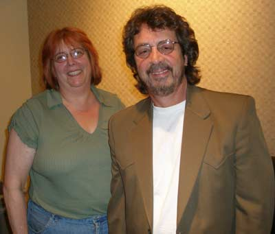 Debbie Hanson and Michael Stanley