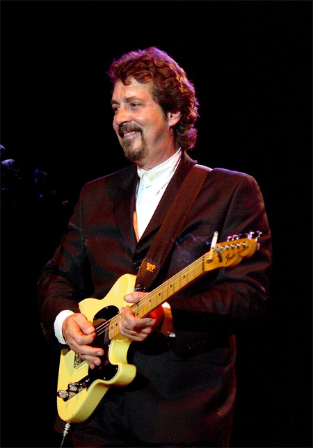 Michael Stanley at Tower City Amphitheater, in Cleveland, Ohio, June 8, 2002. Photo by Joe Kleon