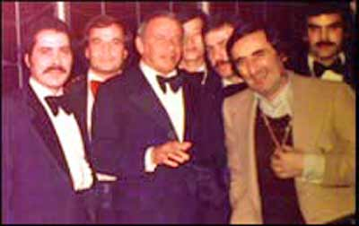 Jim Swingos, Frank Sinatra and Nick Mileti