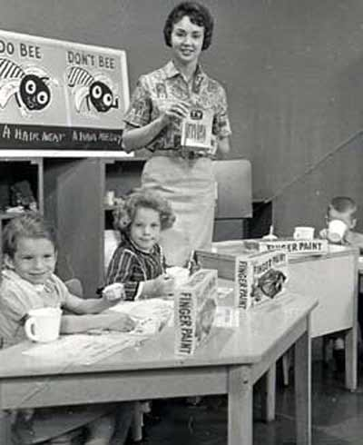 Miss Barbara Plummer on Romper Room