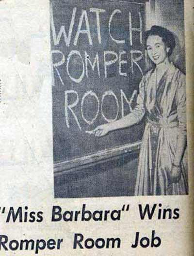 Miss Barbara wins Romper Room job