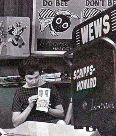 Miss Barbara on Romper Room in 1962